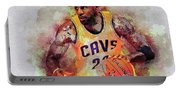 Lebron Raymone James Portable Battery Charger