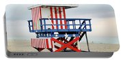 13th Street Lifeguard Tower - Miami Beach Portable Battery Charger