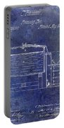 1870 Beer Preserving Patent Blue Portable Battery Charger