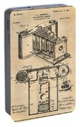 1899 Photographic Camera Patent Print Antique Paper Portable Battery Charger