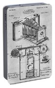 1899 Photographic Camera Patent Print Gray Portable Battery Charger