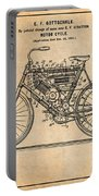 1901 Stratton Motorcycle Antique Paper Patent Print Portable Battery Charger