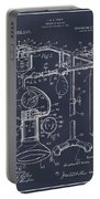 1919 Anesthetic Machine Blackboard Patent Print Portable Battery Charger