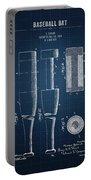 1919 Baseball Bat - Dark Blueprint Portable Battery Charger