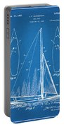 1927 Herreshoff Sail Boat Patent Print Blueprint Portable Battery Charger