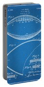 1936 Reach Football Blueprint Patent Print Portable Battery Charger