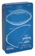 1936 Reach Football Blueprint Patent Print Portable Battery Charger