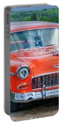 1955 Chevrolet Bel Air Nomad Portable Battery Charger
