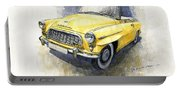 1957-1959 Skoda 450 Cabrio  Portable Battery Charger