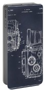 1960 Rolleiflex Photographic Camera Blackboard Patent Print Portable Battery Charger