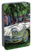 1961 Chevrolet Corvette 002 Portable Battery Charger