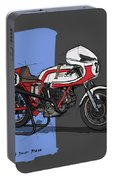 1974 Ducati 750ss Original Handmade Sketch Portable Battery Charger