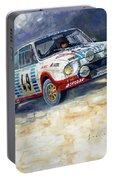 1977 Rallye Monte Carlo Skoda 130 Rs Blahna Hlavka Winner Portable Battery Charger