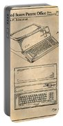 1983 Steve Jobs Apple Personal Computer Antique Paper Patent Print Portable Battery Charger
