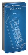 1988 Motorola Cell Phone Blueprint Patent Print Portable Battery Charger