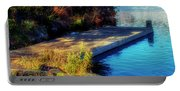 Autumn Colors In Kearney Lake Portable Battery Charger