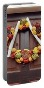 Autumn Wreath Portable Battery Charger