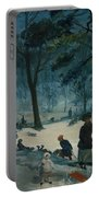 Central Park, Winter Portable Battery Charger