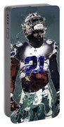 Dallas Cowboys.ezekiel Elliott. Portable Battery Charger