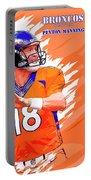 Denver Broncos.peyton Manning. Portable Battery Charger