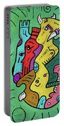 Psychedelic Animals Portable Battery Charger