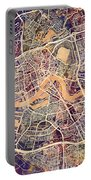 Rotterdam Netherlands City Map Portable Battery Charger
