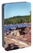 Shores Of Lake Superior Portable Battery Charger
