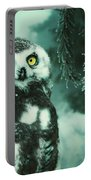 Winter Owl Portable Battery Charger