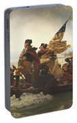 Washington Crossing The Delaware  Portable Battery Charger