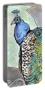2018 Septembird 10 Peacock Portable Battery Charger