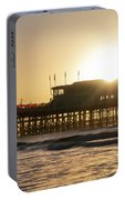 Beautiful Vibrant Sunrise Landscape Image Of Worthing Pier In We Portable Battery Charger