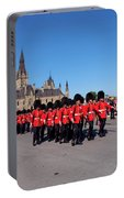 Changing Of The Guard In Ottawa Ontario Canada Portable Battery Charger