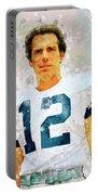 Dallas Cowboys.roger Thomas Staubach. Portable Battery Charger