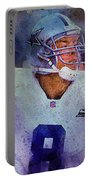 Dallas Cowboys.troy Kenneth Aikman Portable Battery Charger