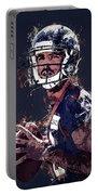 Denver Broncos.case Keenum. Portable Battery Charger
