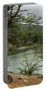 Picturesque Laguna Verde, Tierra Del Fuego National Park, Ushuaia, Argentina Portable Battery Charger