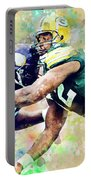 Reggie White. Green Bay Packers. Portable Battery Charger