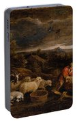 Shepherds And Sheep  Portable Battery Charger