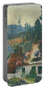 The Red Vine  Matinicus Island  Maine  Portable Battery Charger