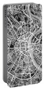 Cologne Germany City Map Portable Battery Charger