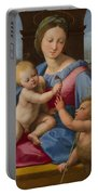 The Garvagh Madonna  Portable Battery Charger
