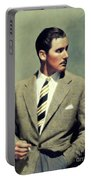 Errol Flynn, Vintage Movie Star Portable Battery Charger
