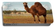 Large Beautiful Camel Portable Battery Charger