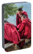 5 Monks On A Break Portable Battery Charger