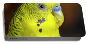 Portrait Of Budgie Birds Portable Battery Charger