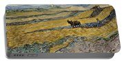 Enclosed Field With Ploughman -  Portable Battery Charger