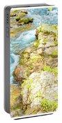 Pocono Mountain Stream, Pennsylvania Portable Battery Charger