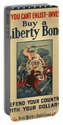 Wartime Propaganda Poster Portable Battery Charger