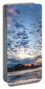 Danvers River Sunset Portable Battery Charger