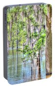 A Beautiful Day In The Bayou Portable Battery Charger